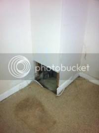Help investigating lounge leak, rain coming down soil ...