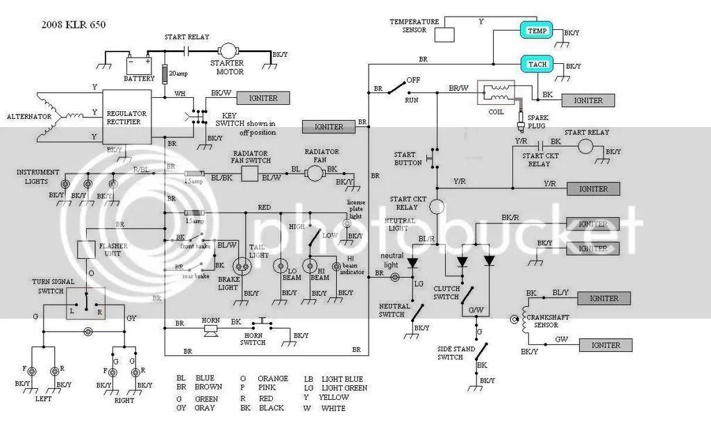 2008 Kawasaki 650i Fuse Box Wiring Schematic Diagram