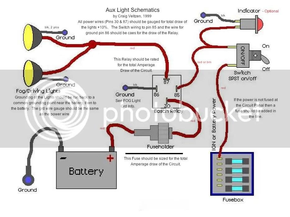 Fog Light Wiring Schematic Wiring Diagram