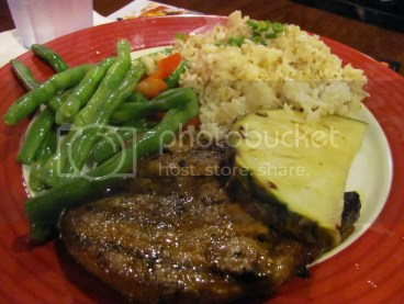 Pacific Grilled Pork Chop
