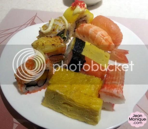 Plate #1: Japanese Feast