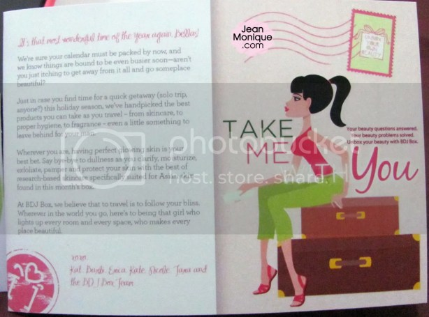 This month's theme: Take Me With You
