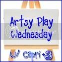 Artsy Play Wednesday with Capri +3