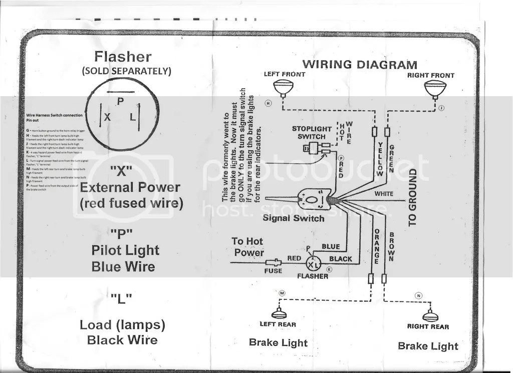 Aftermarket Wire Harness  Turn Signal Switch - The Stovebolt Forums