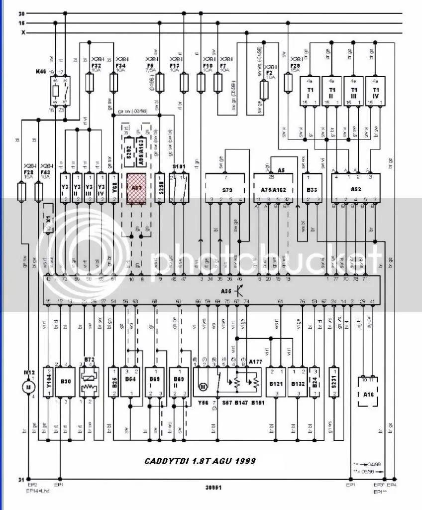 mk4 battery fuse box diagram