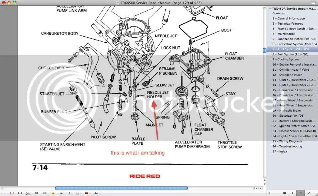 honda 400ex carb diagram car interior design
