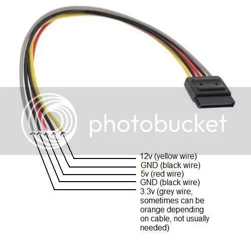 sata drive wire diagram