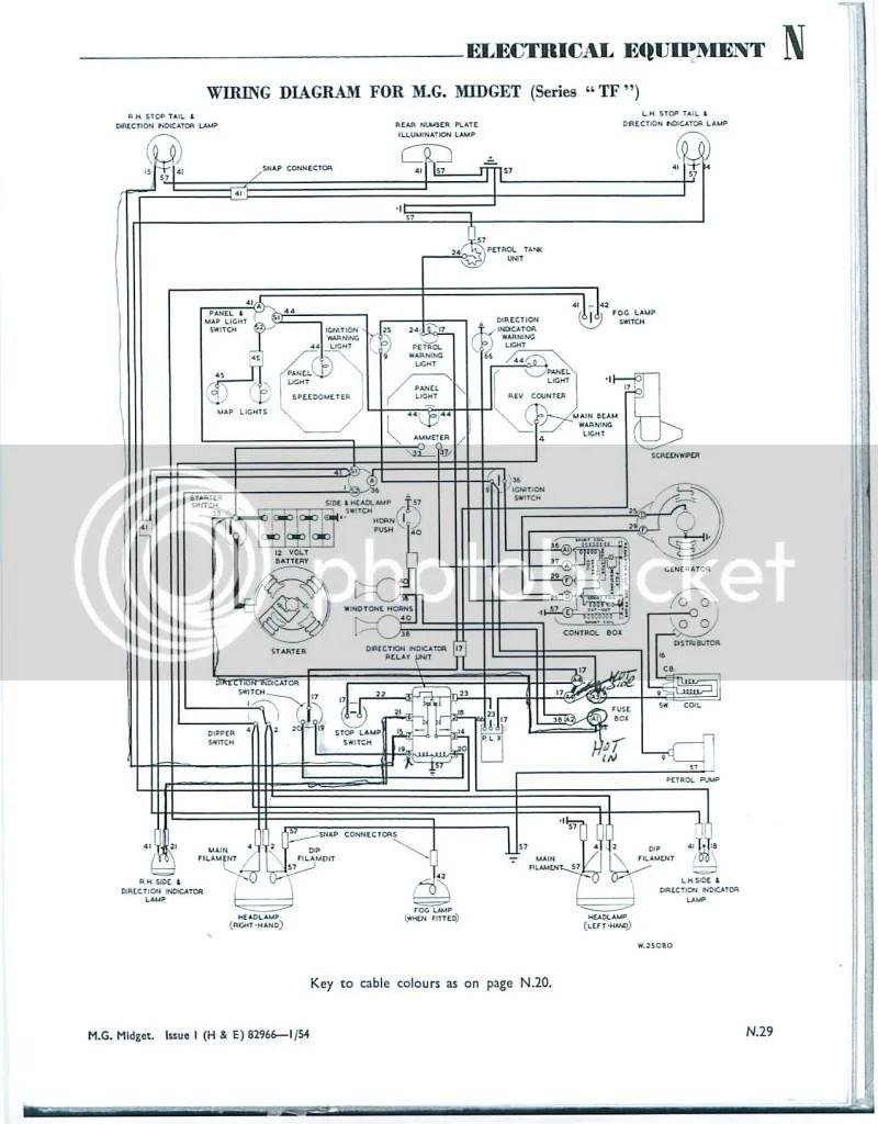 Mg Tf Wiring Diagram Completed Diagrams Honda Accord Dash Schema