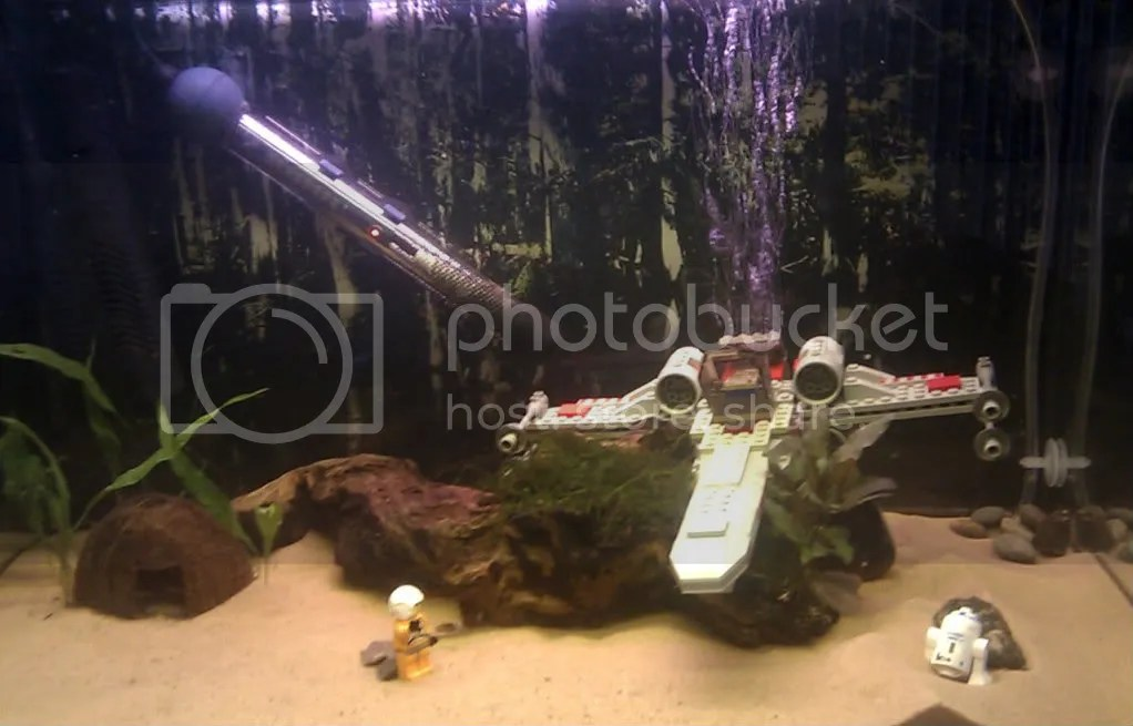 Star Wars fish tank cuarto Josué Pinterest - deko fur aquarium selber machen