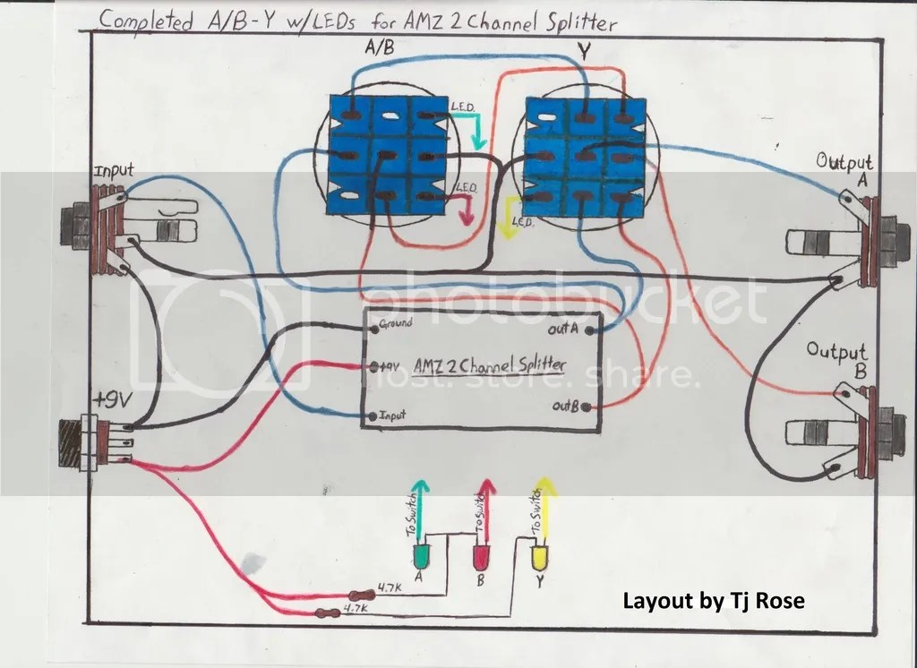 Guitar Effects Wiring Diagrams Wiring Schematic Diagram