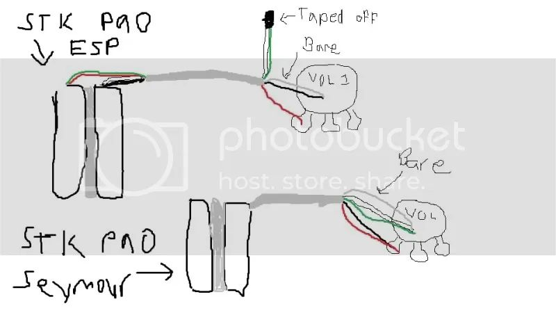 stacked wiring diagram
