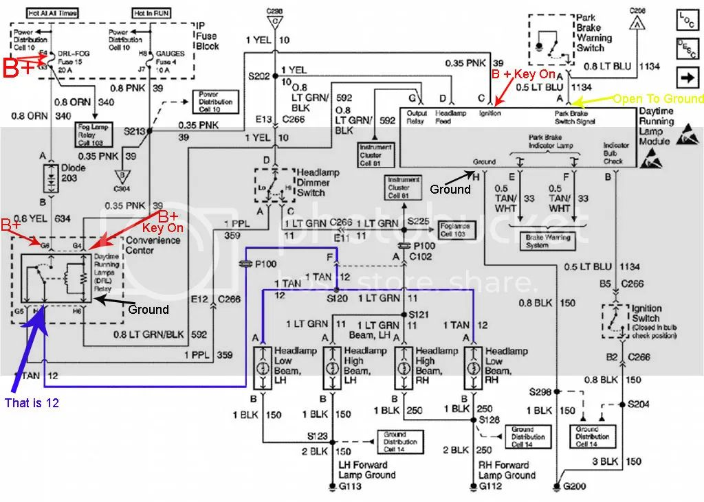 1999 yukon radio wiring diagram