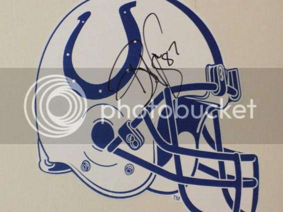 Reggie Wayne's autograph