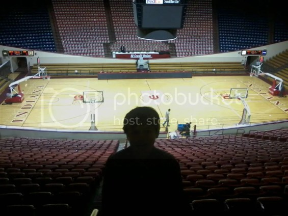 Aiden and Branch McCracken Court at Indiana University's Assembly Hall