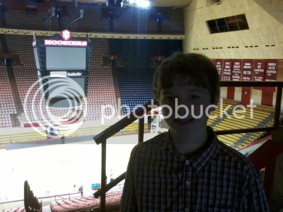 Inside Indiana University's Assembly Hall