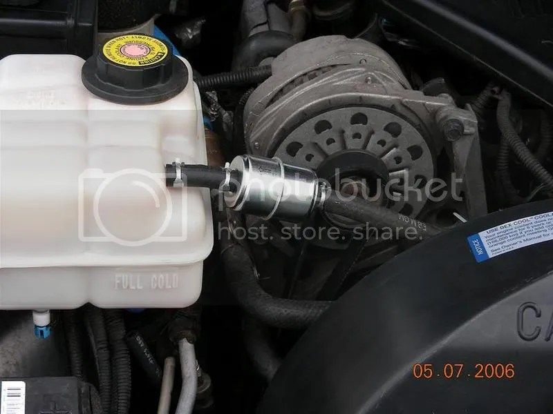 Coolant filter mod w/pic - Chevy Impala SS Forum