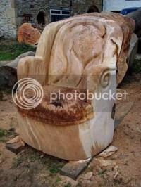 Tree Trunk Armchair | Mouldylocks