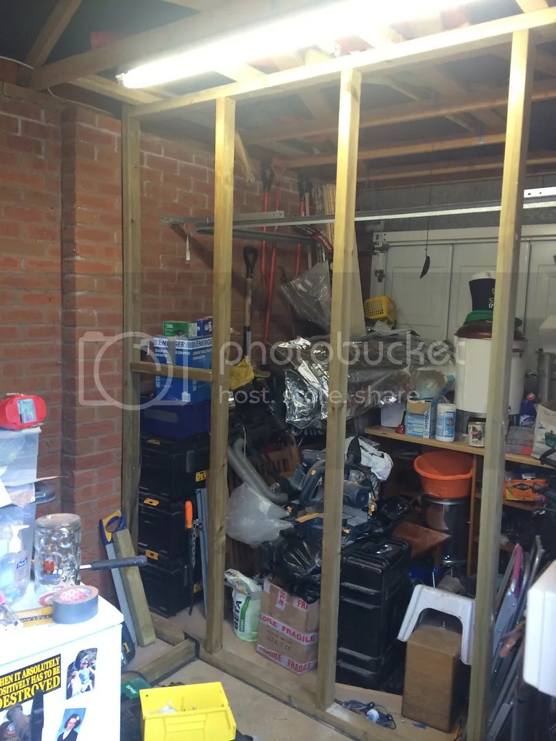 Garage Conversion Man Cave The Brewing Forum View Topic Single Skin Garage Conversion