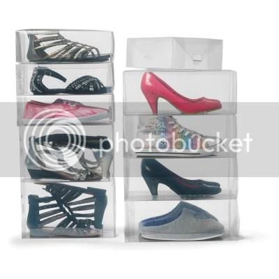 Jual Kotak Sepatu Transparan Clear Shoe Box Ready UNLIMITED
