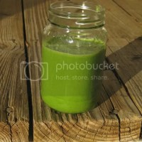 Green Smoothie with Kale (!)