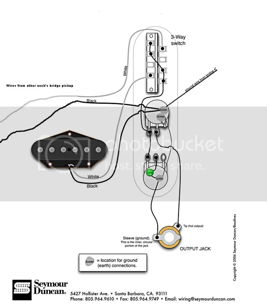 seymour duncan esquire wiring diagram