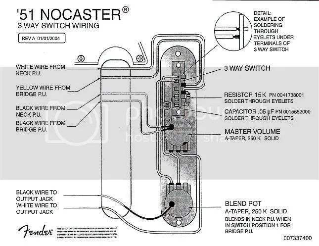nocaster wiring diagram