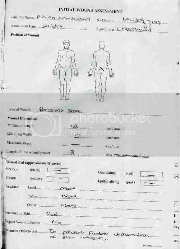 Dead Man Walking Part 5 - Ralph Winstanley - FACTS about his death - nursing assessment forms