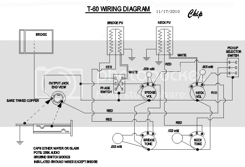 guitar wiring diagrams master volume