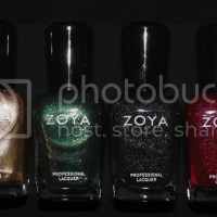Zoya Ornate Collection for Holiday 2012 Swatches & Review