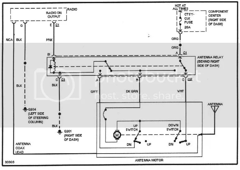Chilton Radio/Power-Antenna Diagram Archive - International Full