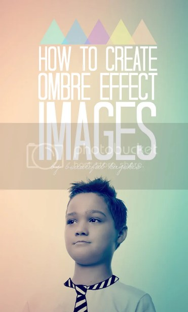How to create ombre effect images (like I did)