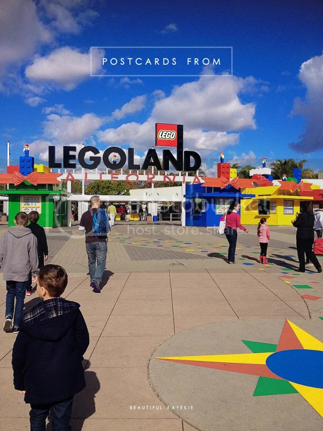 Postcards from Legoland California, winter holiday!