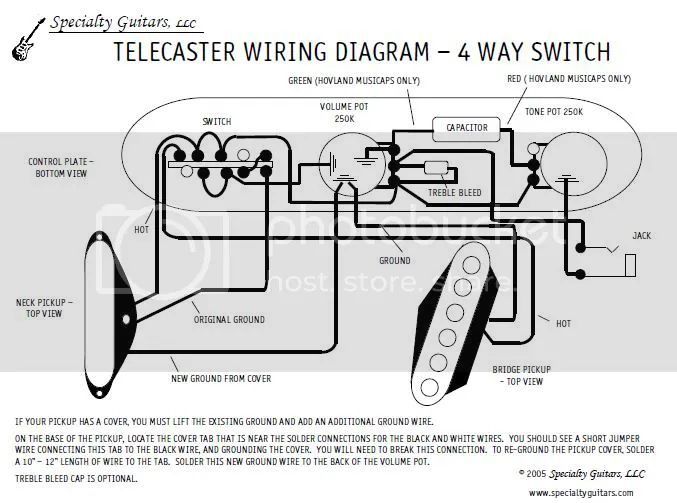 telecaster wiring diagram on telecaster texas special wiring 4 way