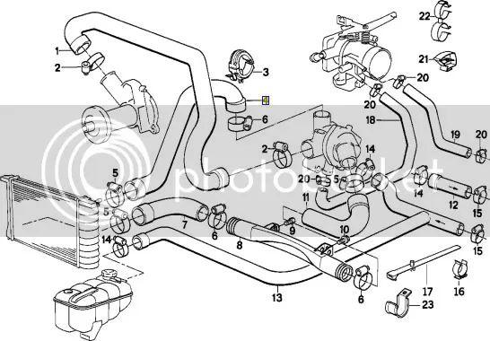 jaguar engine cooling diagram