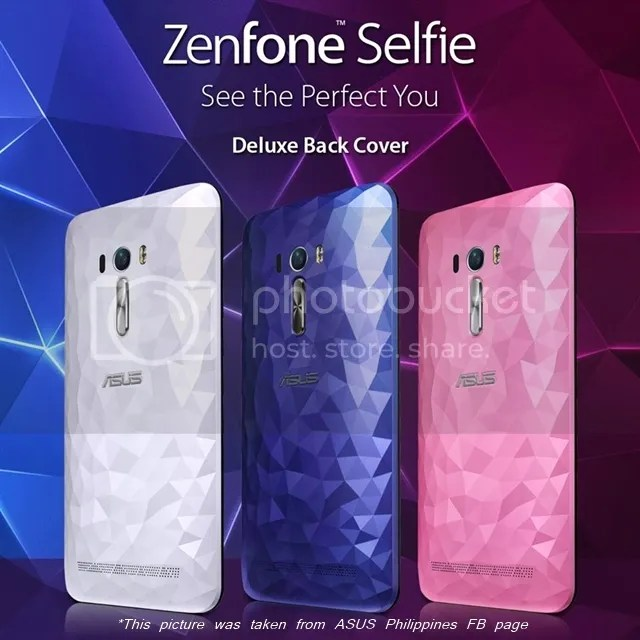 Asus ZenFone Selfie Deluxe Illusion Series back cover