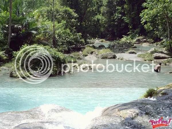 Cambuhagay Falls Stream