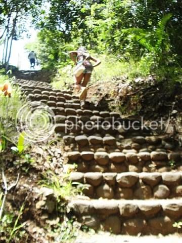 Stone Steps Stair t oCambuhagay Falls