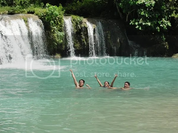 Swimming in cool waters