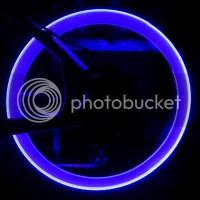 4X Bicycle Car Motorcycle Wheel Tire Valve Stem Cap Neon ...