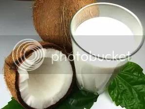 gambar kelapa santan, kelapa santan, air santan kelapa, kegunaan kelapa
