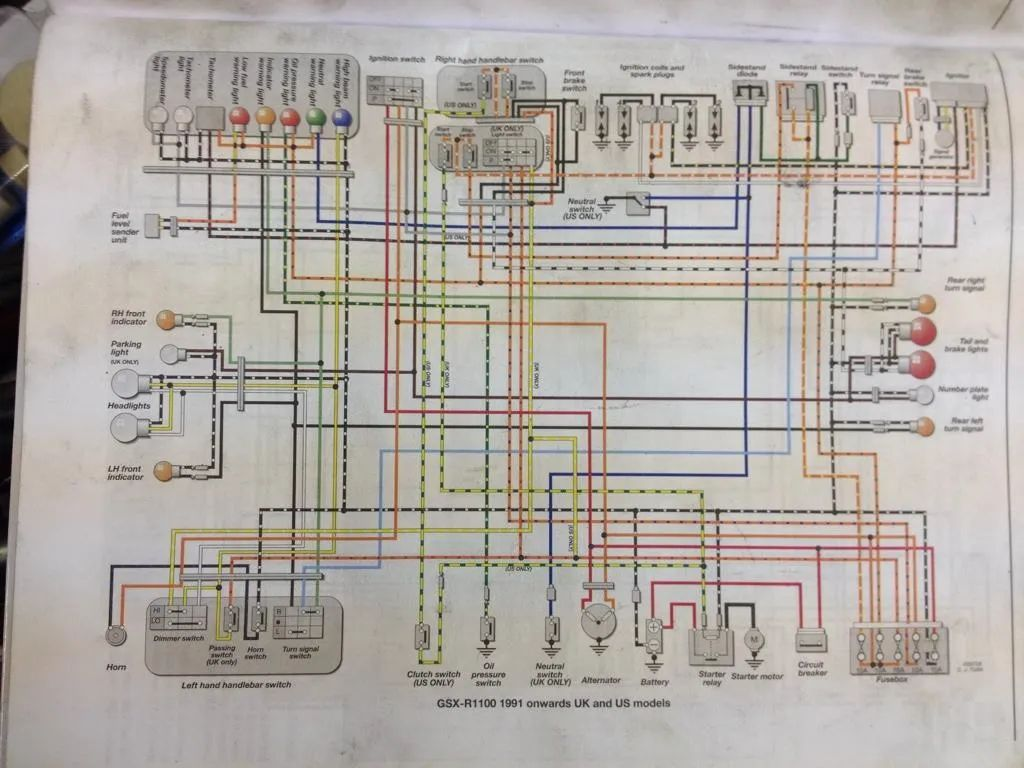 Gs Xr 600 Wiring Diagram Auto Electrical 1999 Sv650