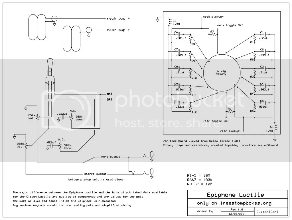 Wiring Diagram For Gibson Lucille Les Paul Guitar The Hobbit Questions By Chapter