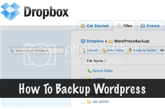 How to Backup WordPress Database, Posts and Files