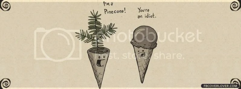 Pinecone Funny Cover