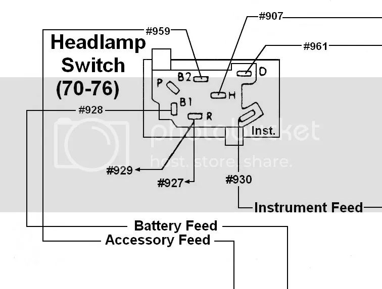 light switch wiring diagram on universal headlight switch wiring
