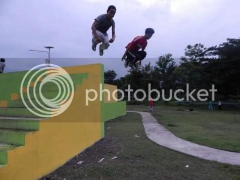 Gambar 7 : Jamming Di Parkour Park, Parkour Mojokerto