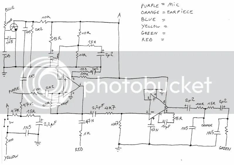 throat mic circuit reverse engineering (help needed)