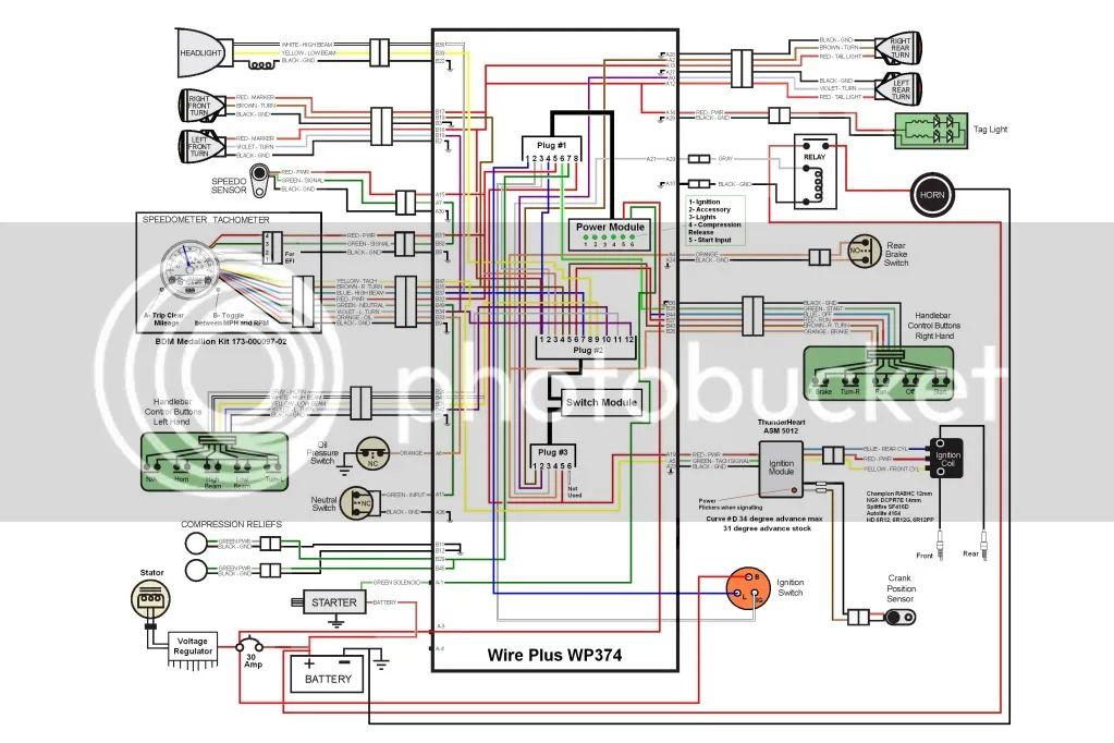 2008 big dog wiring diagram