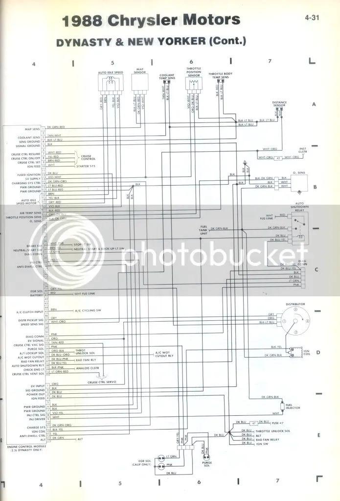 chrysler new yorker diagrama de cableado