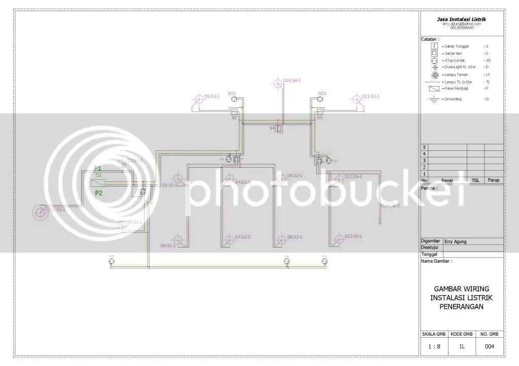 wiring diagram lampu otomatis